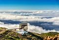 The Observatory of El Roque de Los Muchachos in La Palma
