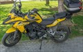 The Yellow Motorcycle