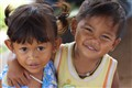 Happy Cambodian kids