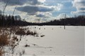 Frozen Beaver Pond