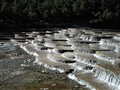 Glacial runoff river from Jade Mountain, Yunnan, China