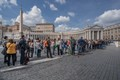 The usual Queue to St. Peter's Basilica