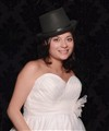 Bride Nic in Top Hat