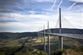nature nd man made - the Millau bridge