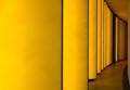 Yellow corridor