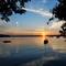 Sandlake sunset view