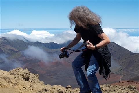 Falling into Haleakala Volcano