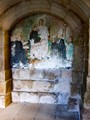 Mural, Samos monastery, Galicia