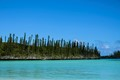 Pines Island in blue and green - New caledonia