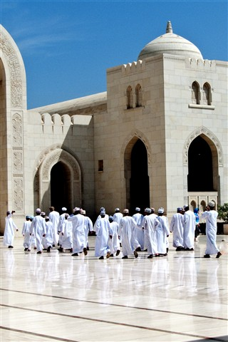021 Oman Grand Mosque - School Tour