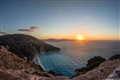 Sunset on Kefalonia island