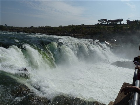 Dhuandhar falls at Jabalpur,India