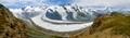 Six glaciers and Matterhorn