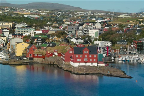 Tinganes, Thorshavn, Faroes islands