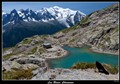Chamonix mountains and lake