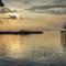 Painterly, Manila Bay Sunset: Manila Bay, Manila Philippines.