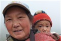 mother and child, China