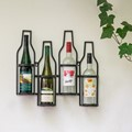 four wine bottles