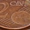 coin from video with manual focus shift: 2 cent coin macro