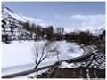 Frozen Nako Lake