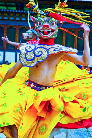 Dancer in Bhutan