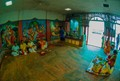 Indoor natural light-Shib pur bathing ghat indoor temple