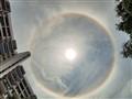 A Parhelic Circle at High Noon