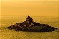 Glowing Vivekananda Rock