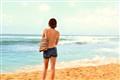 Ocean roar in silence...