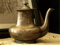 Great Northern Railroad Silver Teapot