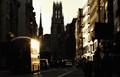 Fleet Street, late evening sun