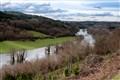 Río Miño in flood