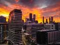 Sunrise, Docklands Victoria