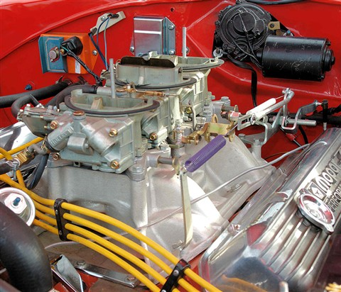 1969 440 Six Pack carbs