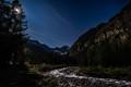 Alpine moonlight