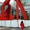 La femme en rouge Calder