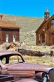 Aging in the old town--Bodie, California.