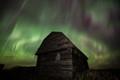 Old Alberta Barn Aurora