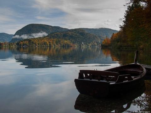 boat -  Bohinjsko Jezero