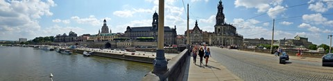 Dresden from Elbe River