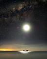 Ship Moon and Stars