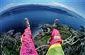 paraglide feet