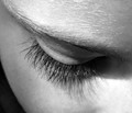When she looked down to read, the shadow of her lashes played on her cheek and I couldn't resist the shot!