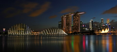 Evening View @ Marina Bay