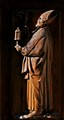 a bishop in wood