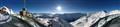Panorama über Ötztaler Gletscher