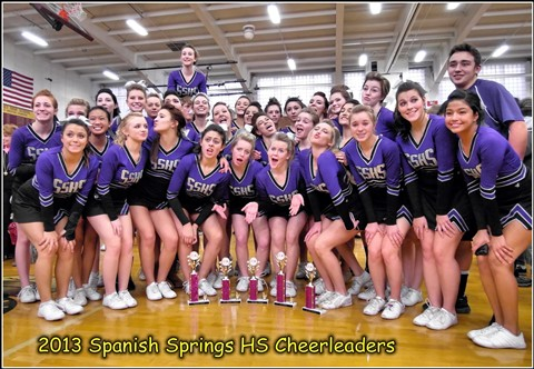 2013 Sparks HS Cheer Competition / Spanish Springs