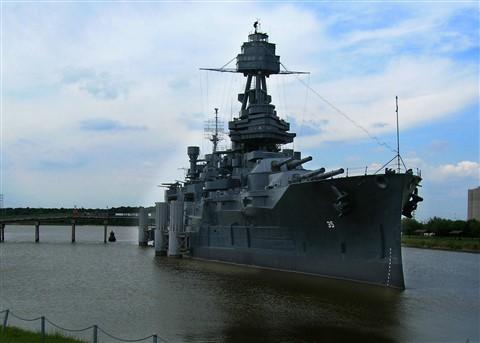 Battleship Texas located in DeerPark