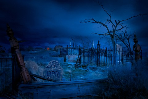 graveyard_Pixel Poetry Digital Retouching