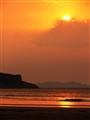 Oberon beach sunset